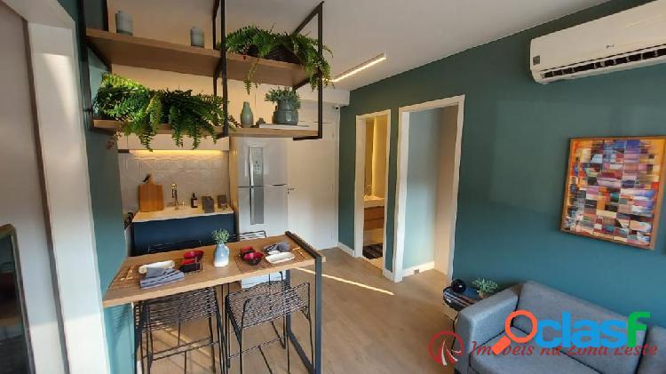 Apartamento 2 dorms, 35m², vaga moto - josé bonifácio - itaquera