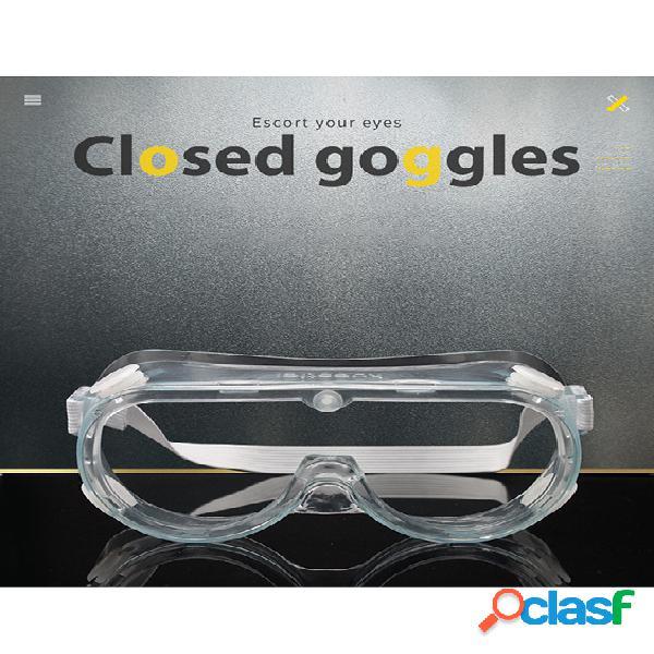 Óculos de proteção contra respingos óculos de proteção com estrutura transparente óculos