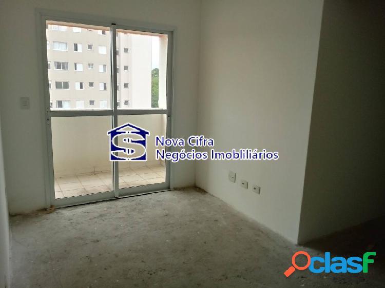 Apartamento novo, andar alto, 3 dorms (1 suíte) - no jd. satélite - 77m²