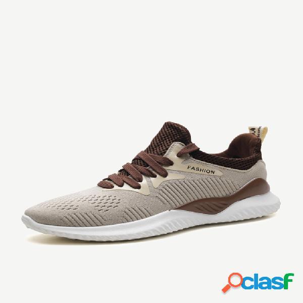 Sudeste asiático calçados esportivos masculinos temporada de vôo respirável tecido ultra-leve sapatos casuais moda tênis de corrida
