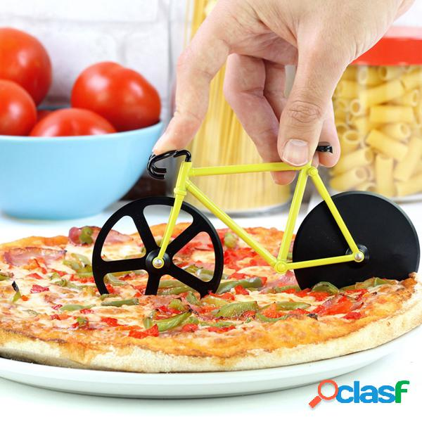 Honana cf-bw03 cortador de pizza para bicicleta profissional antiaderente para bicicleta redonda para pizza