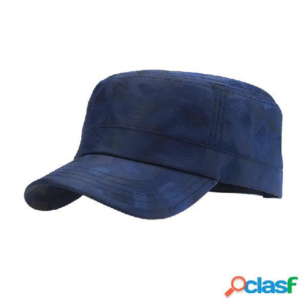 Chapéu respirável e leve de outdoor à prova de água anti-uv para homens