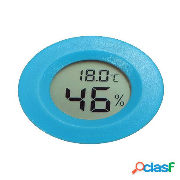 Novo mini crawler pet temperatura termômetro higrômetro tela eletrônica digital