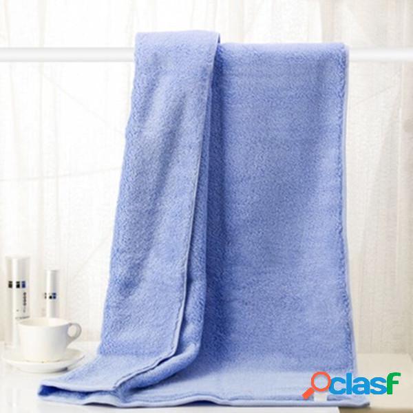 70 * 140 cm youth series toalha de banho tecido de algodão de crofibra toalhas de absorção de água antibacteriana