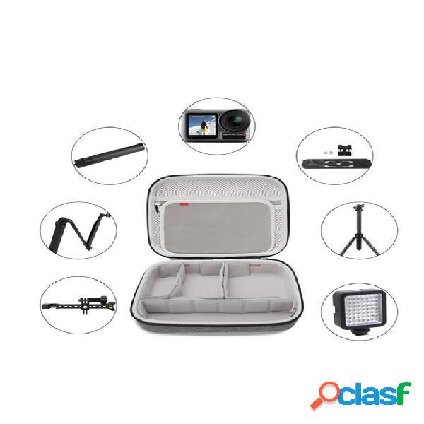 Câmera multifuncional bolsa armazenamento de acessórios de câmera bolsa armazenamento de cabo de dados de suporte bolsa