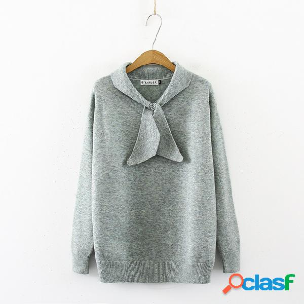 200 libras gordas mm pequeno fresco cor sólida camisola arco assentamento camisa xl maré das mulheres 7068