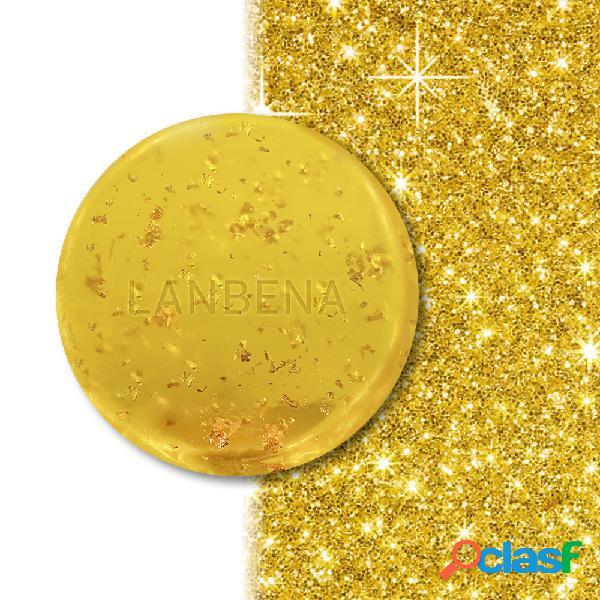 24 k ouro sabonete artesanal algas profunda clareamento nutritivo limpeza profunda sabão hidratante cuidados faciais