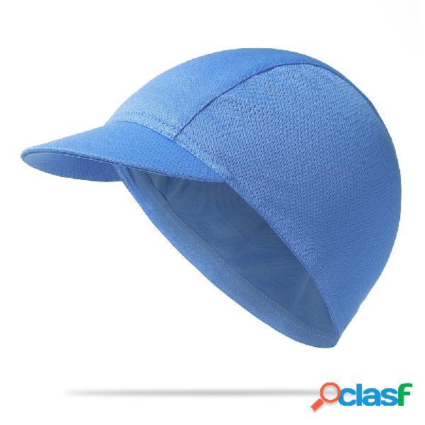 Mens sólida casual respirável cap sun absorção de absorção de suor secagem rápida esportes ao ar livre chapéu