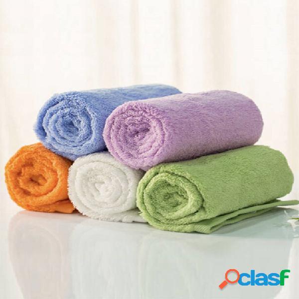 Toalha de toalha de tecido de algodão e algodão antibacteriano da série youth