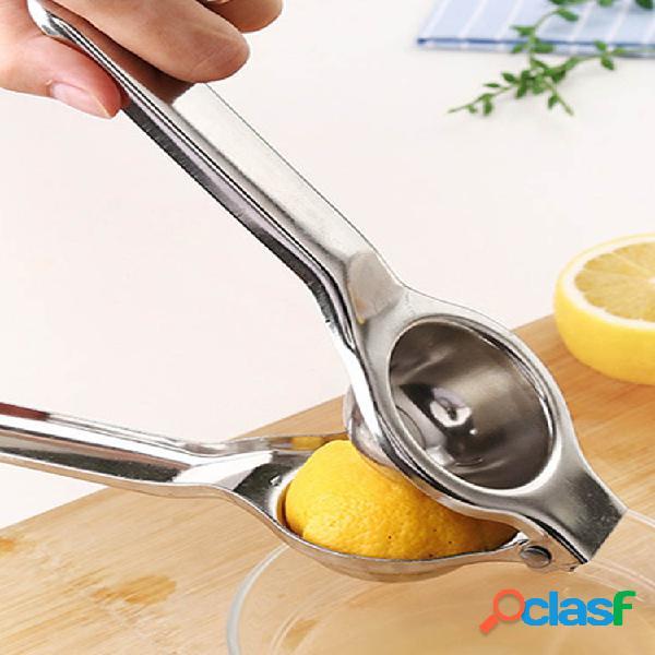 Espremedor de limão em aço inoxidável espremedor de laranja espremedores de suco de frutas prensa rápida multifuncional