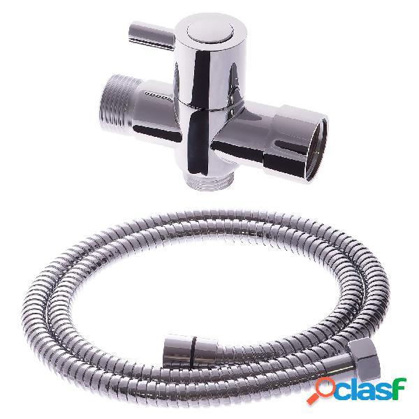 Aço inoxidável handheld bidé kit de pulverizador higiênico set bidet torneira para o banheiro mão chuveiro cabeça