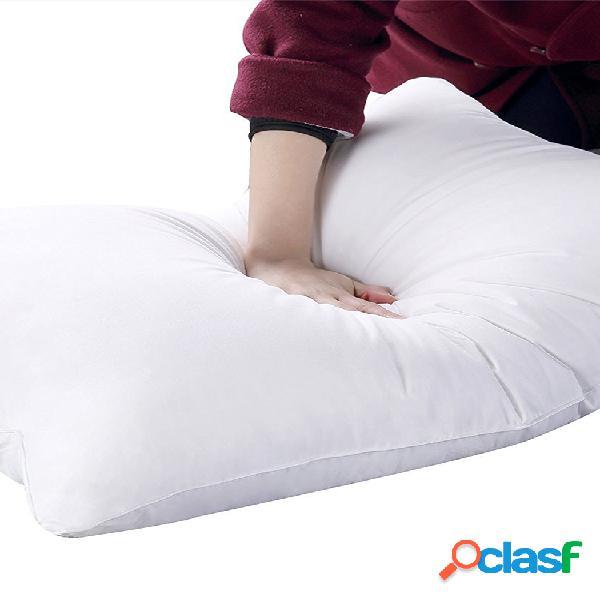 Travesseiros de penas de ganso e de penas para dormir travesseiros decorativos de veludo algodão cheio de travesseiro de hotel