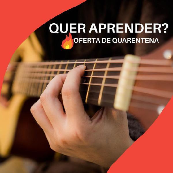 Curso online avançado de violão
