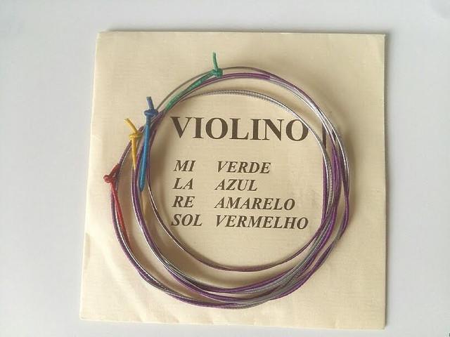 Jogo de cordas para violino - mauro calixto