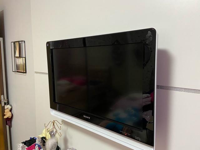 Tv sony lcd 26 polegadas funcionando