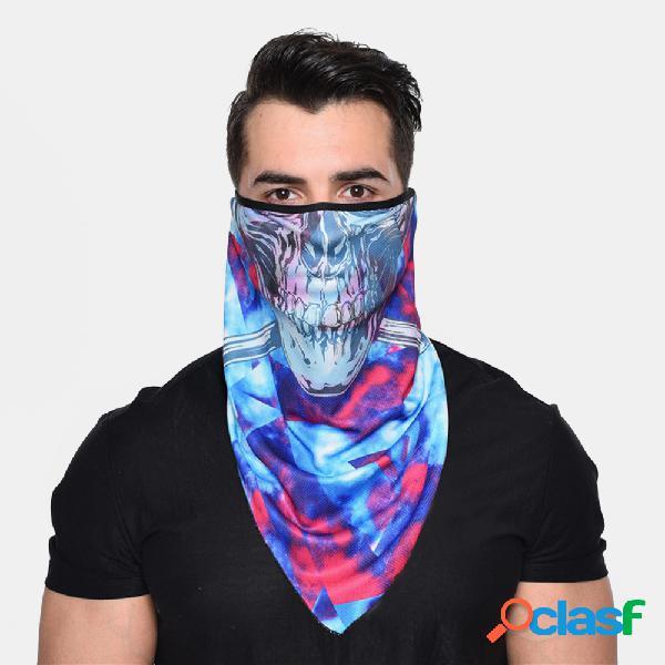Protetor solar à prova de vento, secagem rápida, respirável, equitação máscara