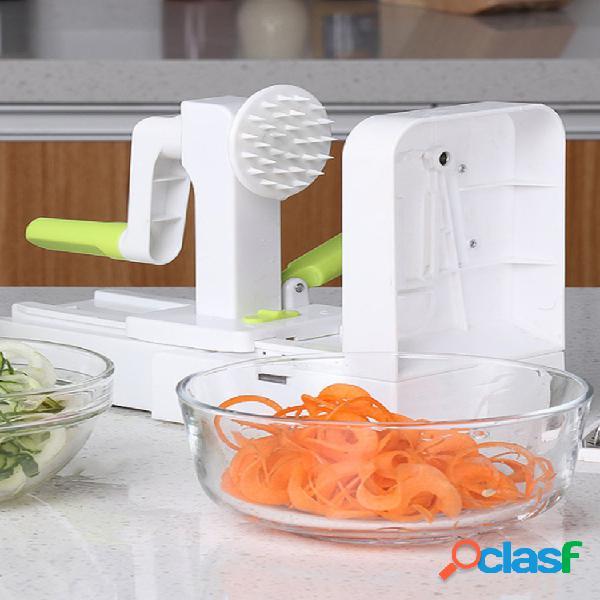 Multifuncional vegetal fruit chopper hand rotation salad shredder dinner machine para cozinha ferramenta