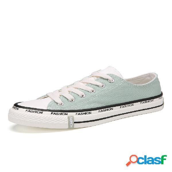 Sapatos planos femininos de cor sólida soft inferior