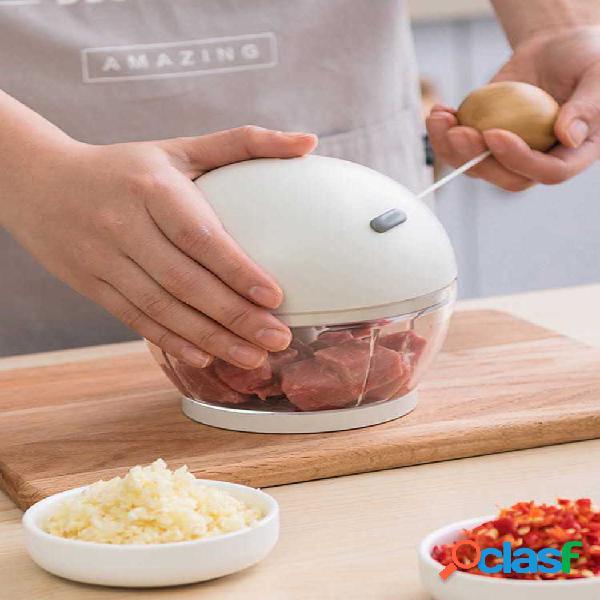 500 ml moedor de carne puxar agitando alho bolinho de massa artefato de recheio para cozinha ferramenta de corte