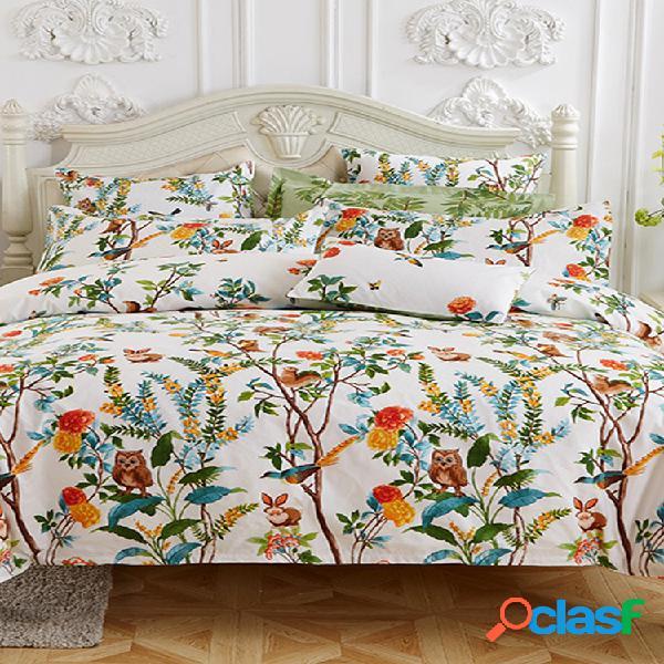 Venda quente de quatro conjuntos de roupa de cama para impressão em tecido kithome