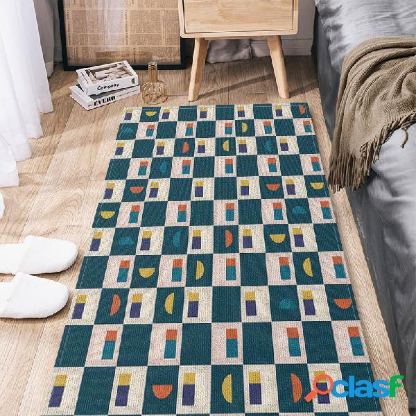 Tapetes de cozinha tapetes de piso grandes tapetes de chão tapetes impermeáveis banheiro