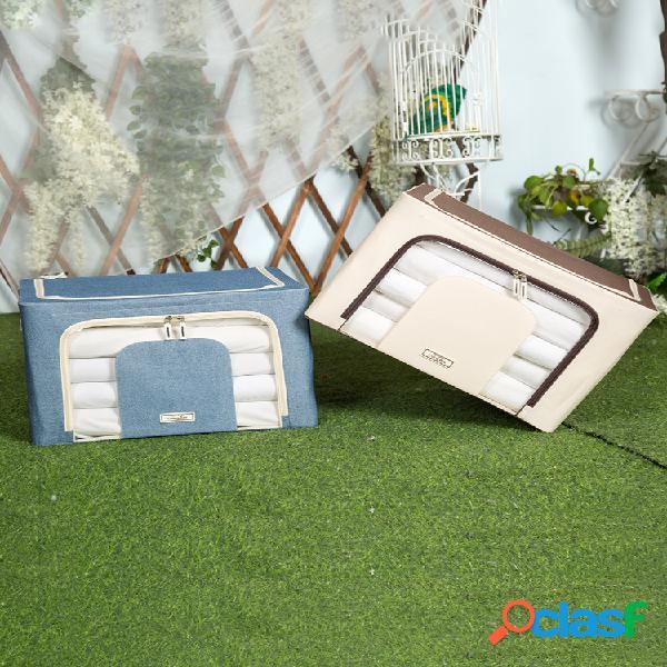 Armazenamento de pano oxford caixa armazenamento de brinquedo extra grande à prova d'água e resistente à umidade caixa