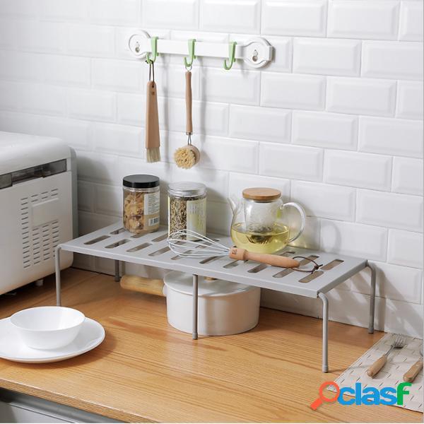 14 '' - 27 '' expansível sob a pia rack armário e armário de armazenamento de prateleira organizador doméstico multifuncional para cozinha, quarto e sala de estar