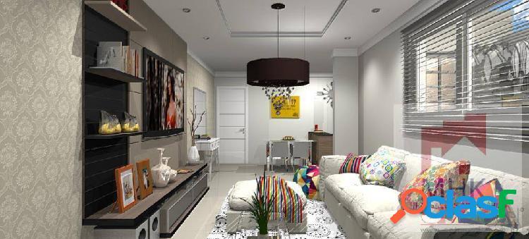 Apartamento 3 dorm. / 2 suítes / 2 vagas - campestre - santo andré