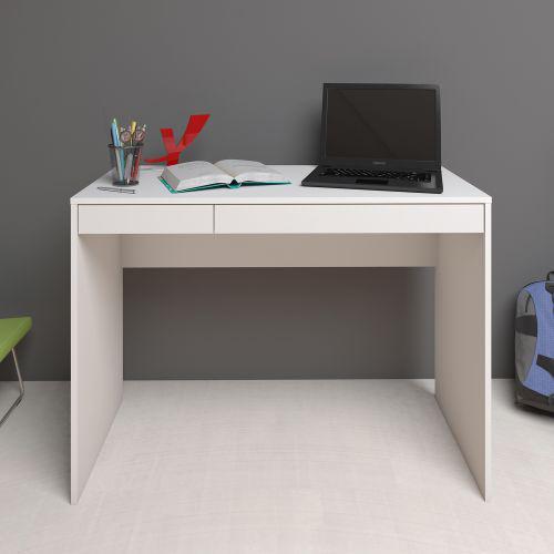 Mesa escrivaninha artany college home office 2 gavetas -