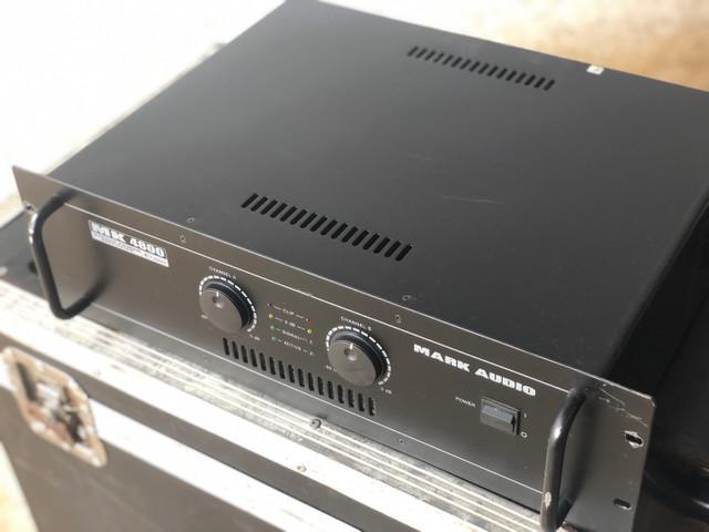 Amplificador potencia mark audio mk4800 800w rms