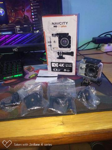 Câmera navcity ng 100plus 4k full hd