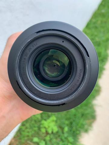 Lente sigma 30mm f/1.4 dc dn para sony