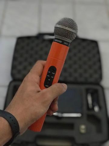Microfone sem fio shure sm58