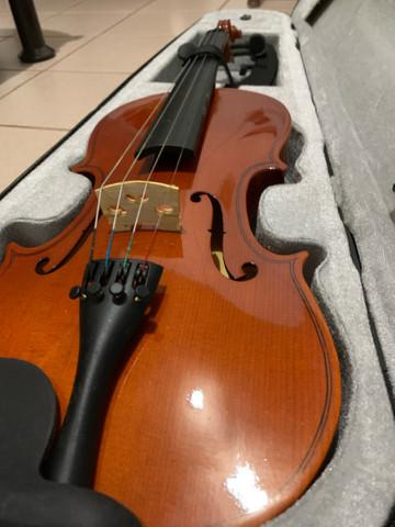 Violino 4/4 vogga c/ espaleira novíssimo