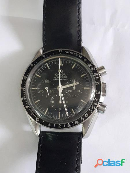 Relógio marca omega modelo seamaster pre moom aço 861