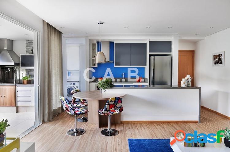 Apartamento mobiliado para venda paisagem tamboré