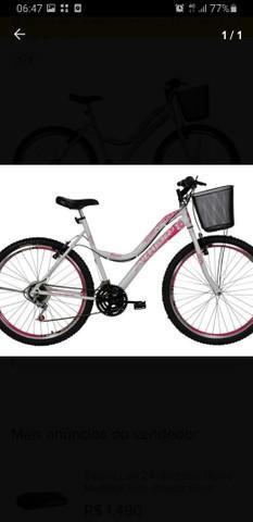Bicicleta feminina aro 26 usada pouca vezes