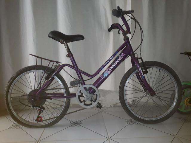 Bicicleta/bike princesinha aro 20