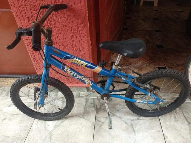 Bike infantil aro 16 rodas novas