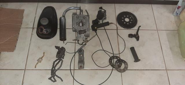 Kit motor 80cc pra bike pra ontem!!