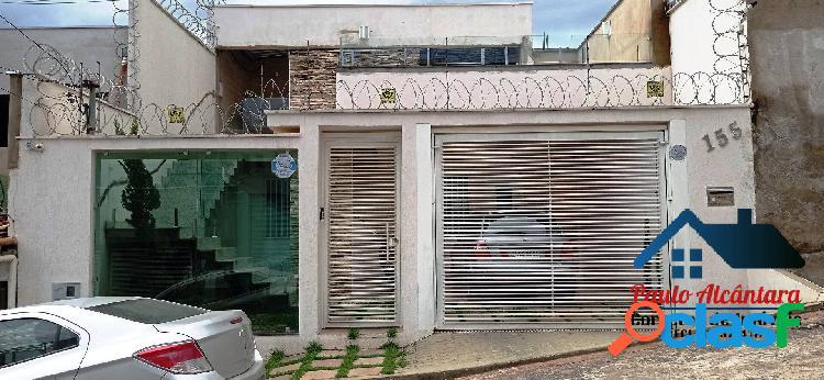 Casa moderna no bairro parque das aguas - ipatinga - cod 215