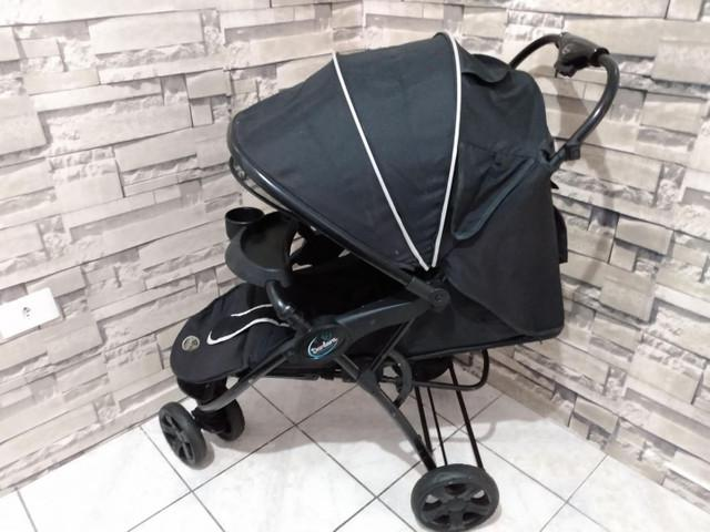 Carrinho + bebê conforto + andador + canguru