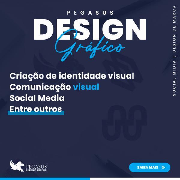 Design gráfico - pegasus design