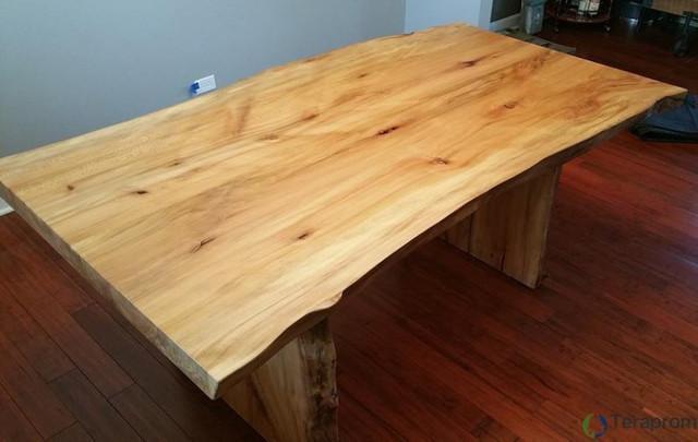 Mesa jantar rustica madeira
