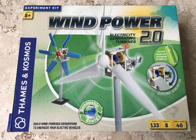 Kit de experimento - wind power 2.0 (turbinas geradores de