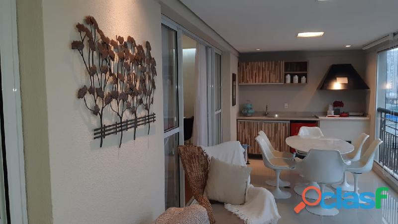 Apartamento 3 suítes 165 m² no condomínio ventura, bairro jardim   santo andré.
