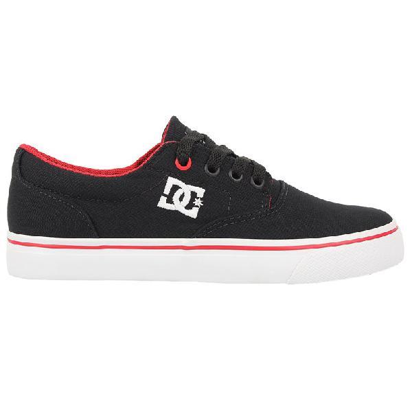 Tênis dc shoes new flash 2 tx black red - surf alive