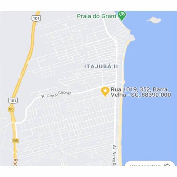 Casa a 300 metros da praia, 73 metros quadrados, norte de
