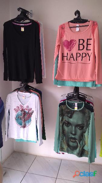 Lote de roupas femininas novas