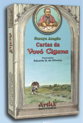 Baralho tarõ cartas da vovó cigana tarot 36 cartas